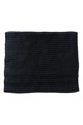 PURE CASHMERE NECK SCARF Blue Navy
