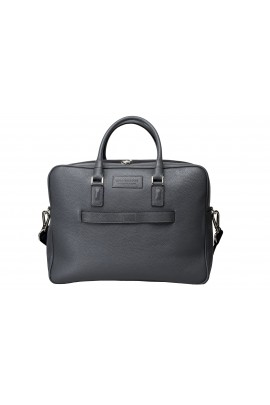 BUSINESS GREY LEATHER BAG