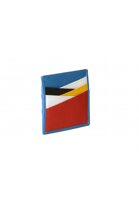LEATHER CARD HOLDER Multicolor