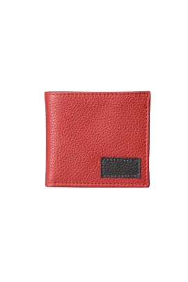 LEATHER CLASSIC WALLET Red