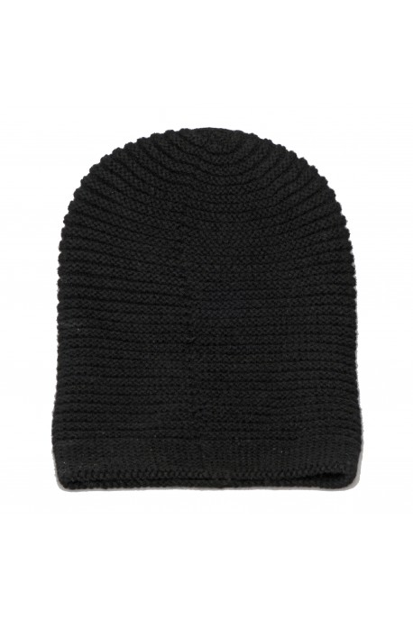 PURE CASHMERE HAT Black