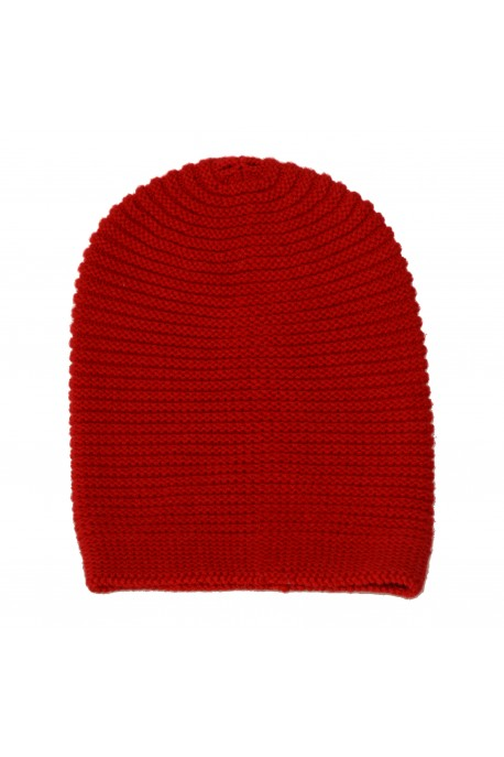 PURE CASHMERE HAT Red