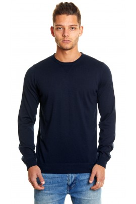 Cashmere and Silk Man Crewneck