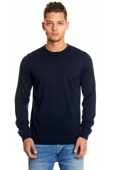 CASHMERE AND SILK CREWNECK