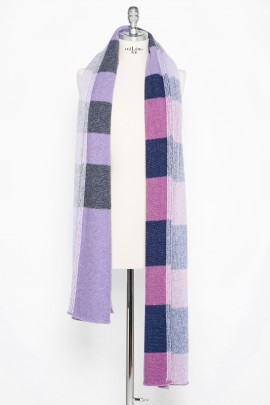 Pure Cashmere Multicolor Shawl Dressing