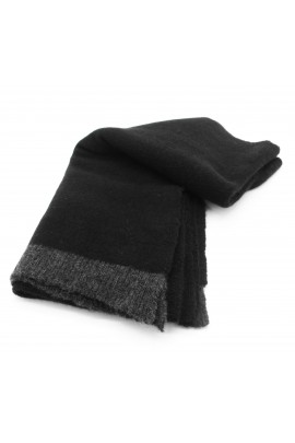 SCIARPA IN PURO CASHMERE Black