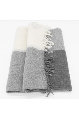 Light Grey Pashmina Shawl